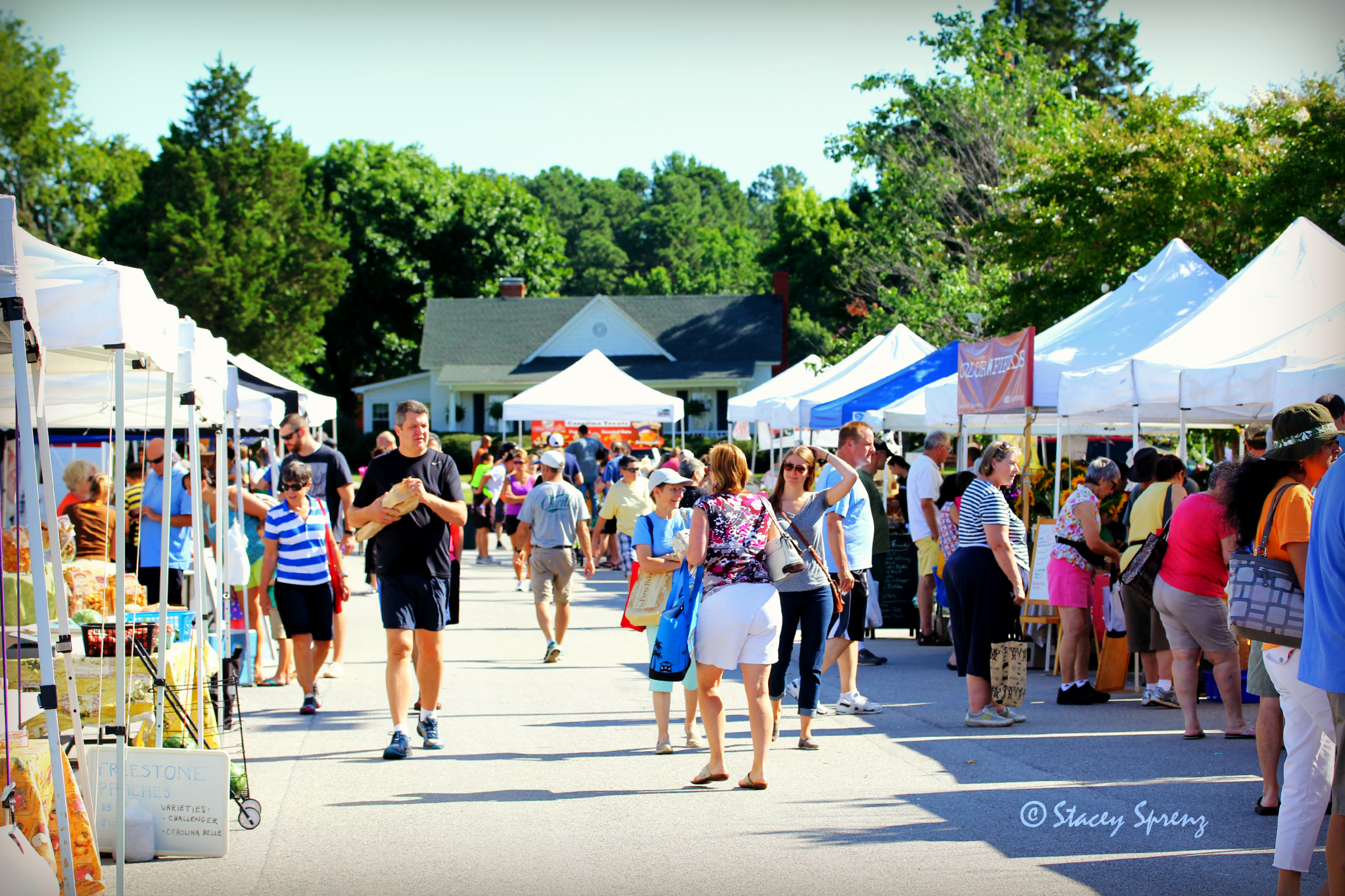 Farmers Market Began Its 2009 Season >> Carpenter Village Location Western Wake Farmers Market
